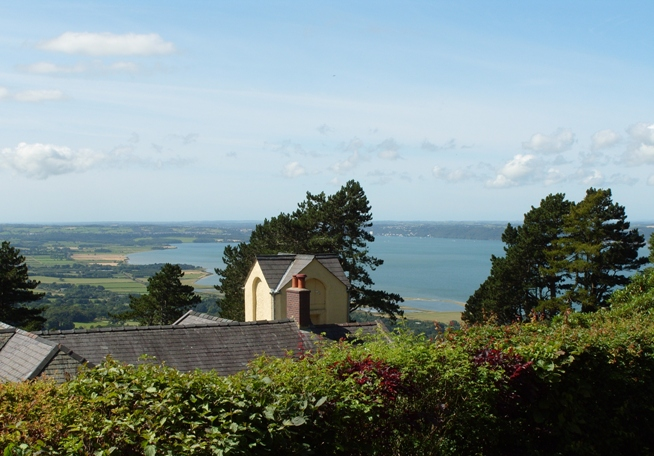 Sea View from Holiday Cottages Snowdonia